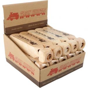 Flauto in legno per bambini fischio locomotiva espositore display 15 pezzi