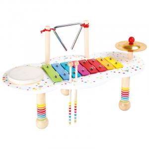 Tavolo musicale gioco per bambini I Casinisti Legler 10385