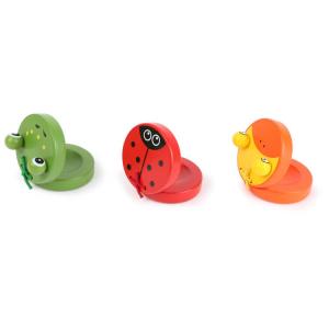 Nacchere colorate strumento musicale bambini espositore display