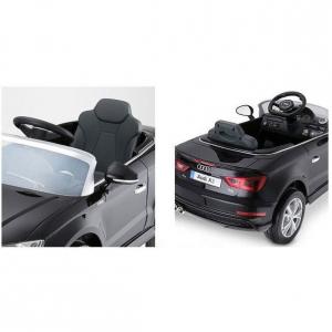 Auto macchina elettrica per Bambini Audi A3 Nera 12V