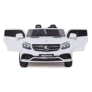 Macchina Auto Elettrica per Bambini Mercedes GlS 63 AMG BIANCA