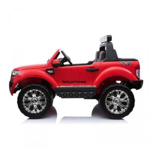 Auto Macchina Elettrica Bambini 2 Posti FORD RANGER 12V WILDTRACK LUXURY ROSSO