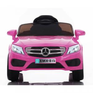 Macchina Auto Elettrica per Bambini Mercedes BABYFUN 12v ROSA