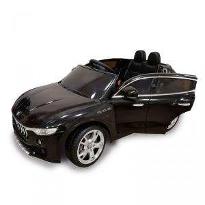 Macchina Auto Elettrica per Bambini Maserati Levante NERA 12V