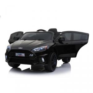 Macchina Auto Elettrica per Bambini FORD FOCUS RS 12v NERA