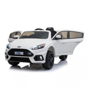 Macchina Auto Elettrica per Bambini FORD FOCUS RS 12v BIANCA