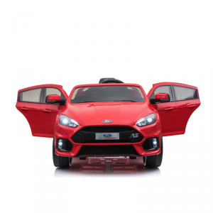 Macchina Auto Elettrica per Bambini FORD FOCUS RS 12v ROSSA