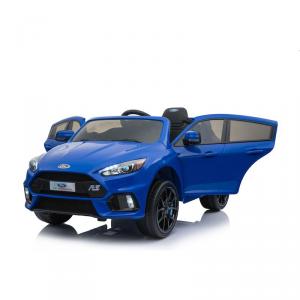 Macchina Auto Elettrica per Bambini FORD FOCUS RS 12v BLU