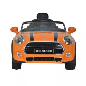 Auto Elettrica per Bambini MINI COOPER CABRIO 12V ARANCIO