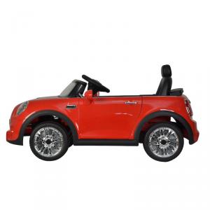 Auto Elettrica per Bambini MINI COOPER CABRIO 12V ROSSA