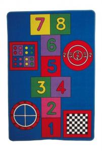 Tappeto creativo da gioco colorato x bambini arredo cameretta Gioco