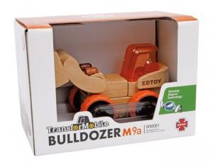 Bulldozer Camion veicolo trasformabile in legno