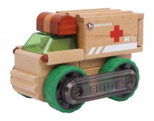 Ambulanza in legno veicolo da costruzione trasformabile varie forme