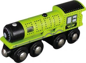 Locomotive in legno colorato ferrovia set da 24 Espositore display per negozio edicola