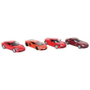 Modellino auto Vetture sportive rosse Espositore Display