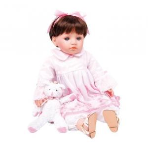 Bambola Giocattolo Julia con vestiti e orsetto Gioco Bambina Legler 3695