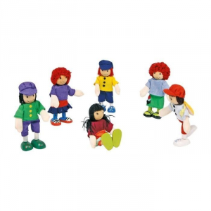 Kit 6 personaggi per casa delle Bambole  Amici