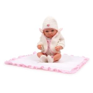 Bambola Lena con vestiti e copertina gioco bambina