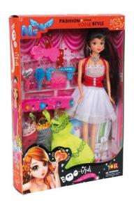 Bambola Isabella con 5 accessori