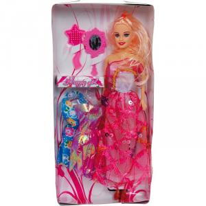 Bambola Susan con 3 vestiti e accessori