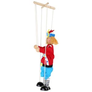 Marionetta Marionette gioco in legno Principe