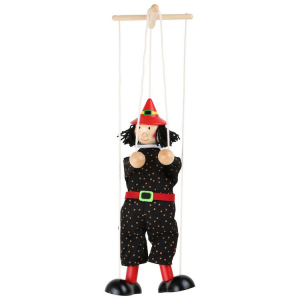 Marionetta Marionette gioco in legno Stregone
