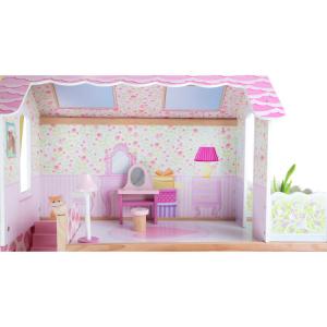 Casa delle bambole Villa con ascensore mobile Giocattolo per bambine