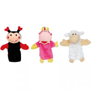 Burattini giocattolo Banda di monelli Set da 3