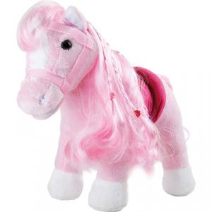 Peluche Pony rosa Legler 10282
