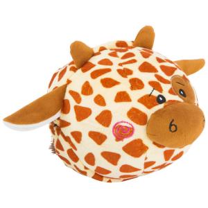 Palla peluche per neonato Zebra e giraffa