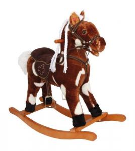 Cavallo a dondolo Benny con suoni gioco per bambini