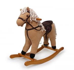Cavallo a dondolo con suoni gioco per bambini