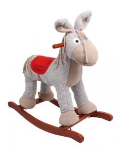 Animale Asino a dondolo con suoni giocattolo per bambini