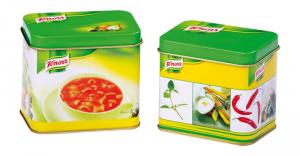 Barattolo Dado Knorr per gioco cucina-bancarella per bambini Set da 2
