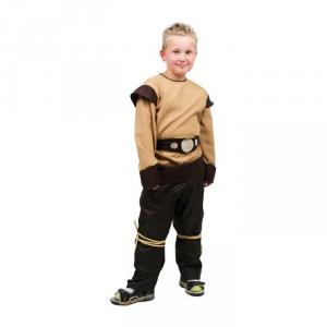 Costume vestito carnevale Vichingo per bambini  da 4 a 10 anni