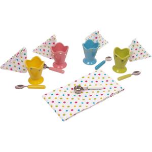 Set Coppa gelato per dessert e granite con accessori Gioco bambini