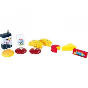 Alimenti giocattolo in legno per uno spuntino Gioco bambini