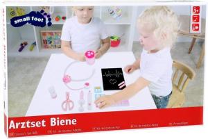 Kit strumenti dottore giocattolo per bambini in legno
