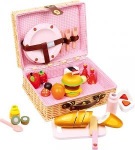 Cesto da picnic Merendina giocattolo per bambine