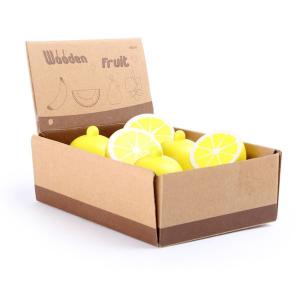Display Limoni di legno accessorio gioco cucina Legler 10146