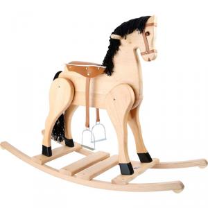 Cavallo a dondolo in legno Deluxe Giocattolo per bambini Legler 10309