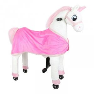 Unicorno Cavalcabile con ruote giocattolo