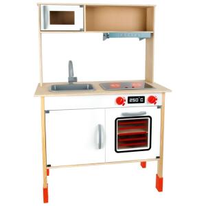 Cucina giocattolo in legno con altezza regolabile Moderna