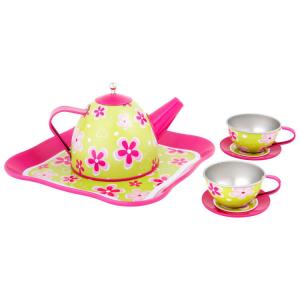 Servizio da tè giocattolo per bambini Sogno floreale