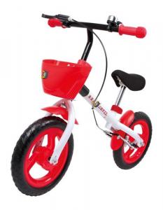 Monopattino bicicletta senza pedali per bambini con cestino