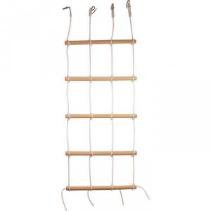 Gioco muro per arrampicate in legno e stoffa per bambini
