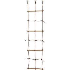 Scala arrampicata per bambini in legno e metallo