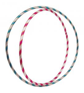 Hula Hoop scintillanti classico gioco abilità per bambini Set da 2