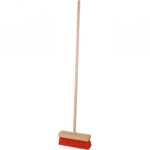 Scopa con manico in legno per bambini gioco pulizia casa bambini
