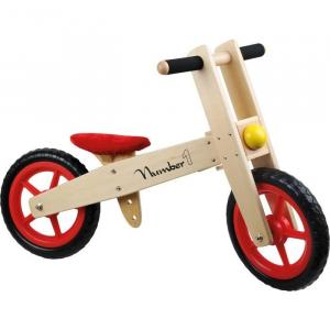 Bicicletta senza pedali in legno gioco per bambini Monopattino